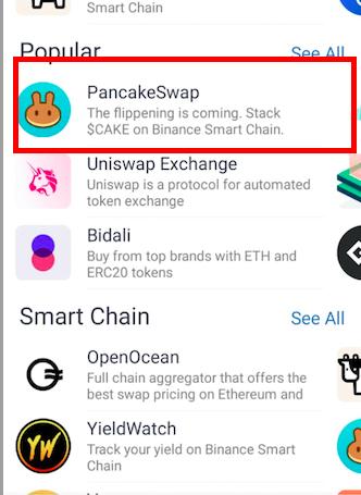 process to buy babydoge coin through pancakeswap.finance