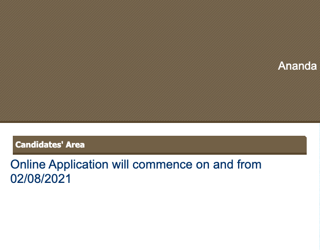 accadmission.net admission form fill up link 2021 will be activated on 2nd august 2021.