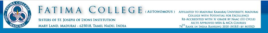 Fatima College Selection List 2021 Check here