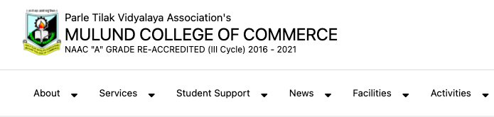 mcc mulund college of commerce fyjc, fybcom 1st merit list download notice