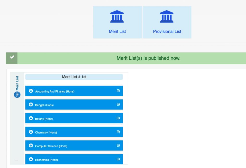 tamralipta mahavidyalaya 1st merit list 2021-22 download links