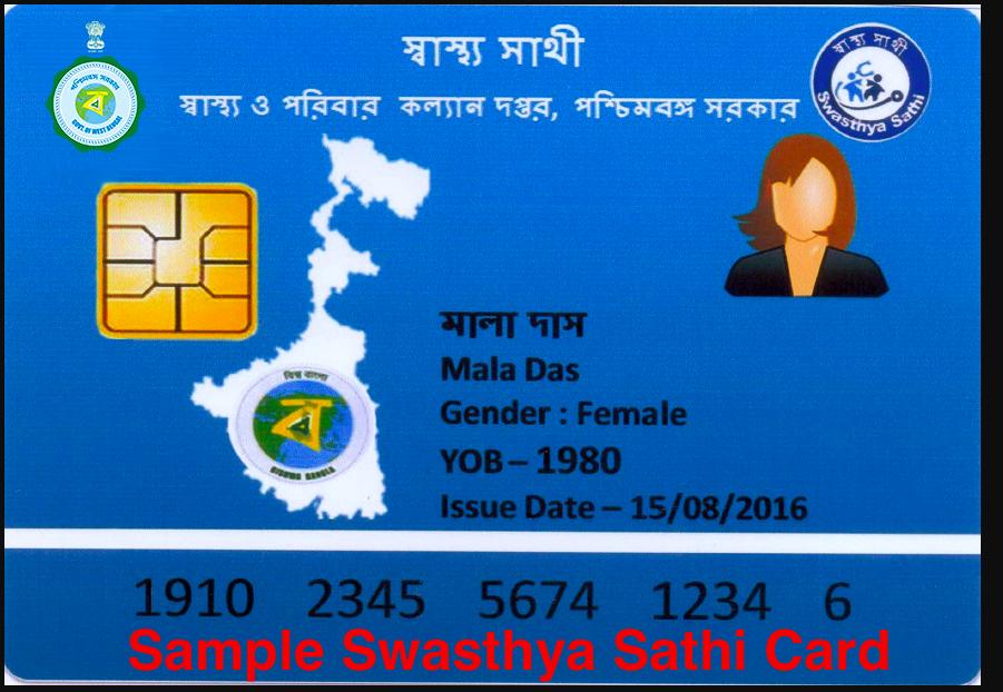 swasthya sathi card sample check online 2021